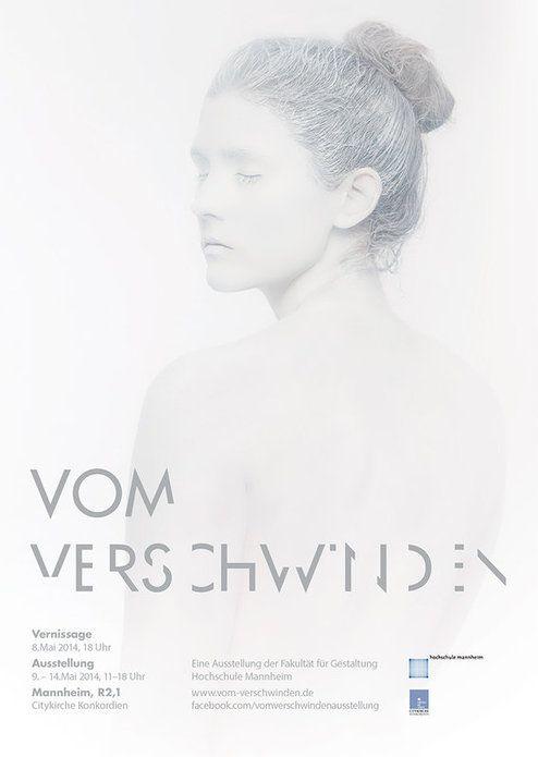 Semesterausstellung der Hochschule Mannheim: Vom Verschwinden | Slanted - Typo Weblog und Magazin