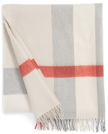 #babyburberry super soft blanket for the nursery <3 So love this!!!!! One day.