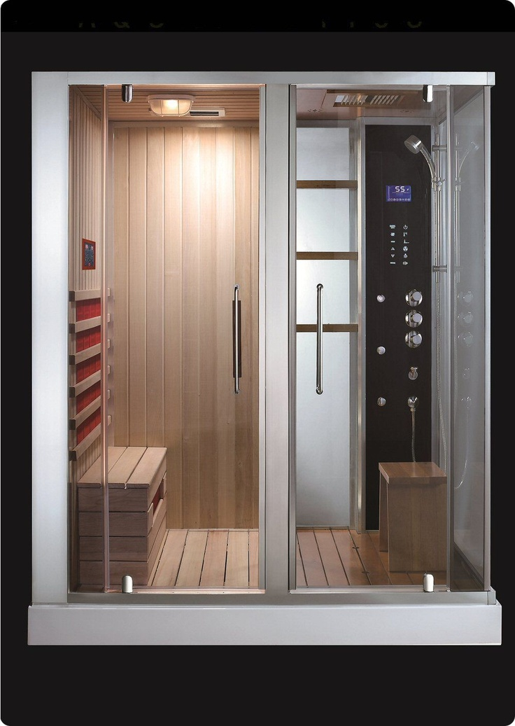53 best images about steam showers on pinterest for Basement sauna kit
