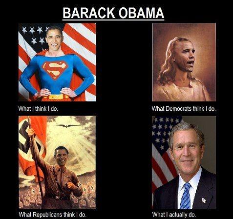 Barack Obama what I actually do