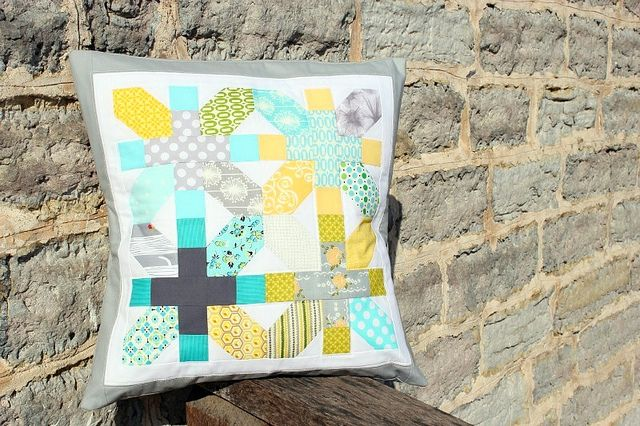 pillow talk swap. sent. by canoeridgecreations, via Flickr: Picture, Color Palettes, Pillow Patterns, Photo Sharing, Potential Patterns, Quilted Pillow