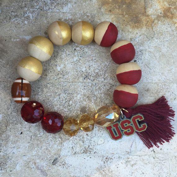 USC Football Spirited Bracelet
