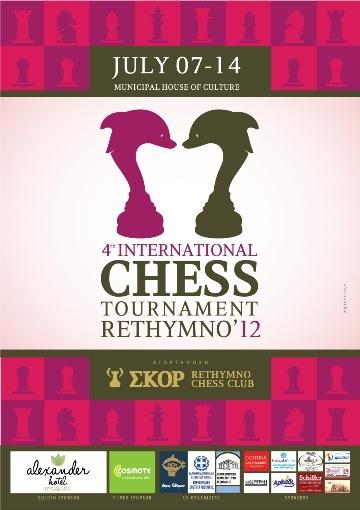 INTERNATIONAL OPEN CHESS TOURNAMENT RETHYMNO 2009   Schedule   INTERNATIONAL OPEN CHESS TOURNAMENT RETHYMNO 2012