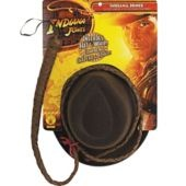 Indiana Jones Hat and Whip Set for Adults - Party City