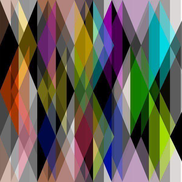 Смелые принты: ромбы, соты, полосы, кубы