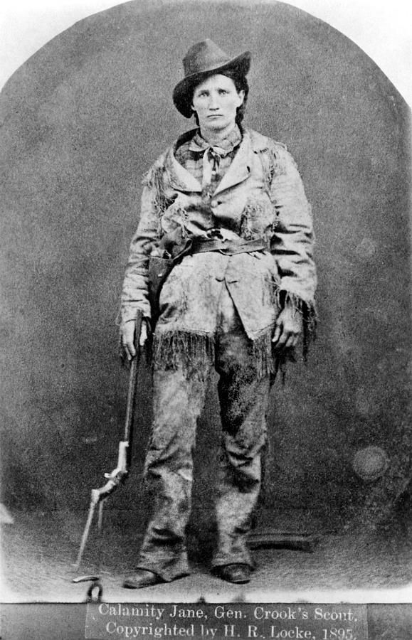 Calamity Jane (1852-1903) Martha Jane Canary Burke, known as 'Calamity Jane.' American frontier character. Photographed in 1895 by Granger