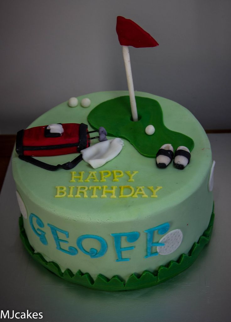 230 Best Images About Golf Cakes On Pinterest Golf