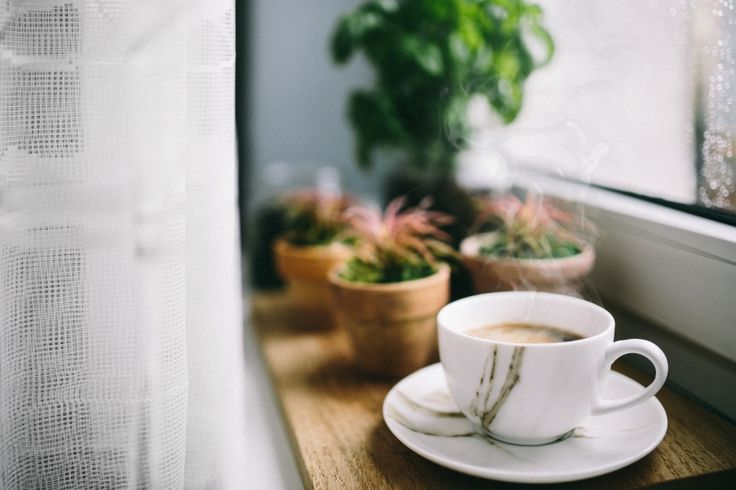Free Stock Photo: Coffee in vintage cup. // Hygge