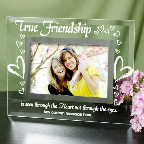 personalized friendship frame personalized friend picture frame