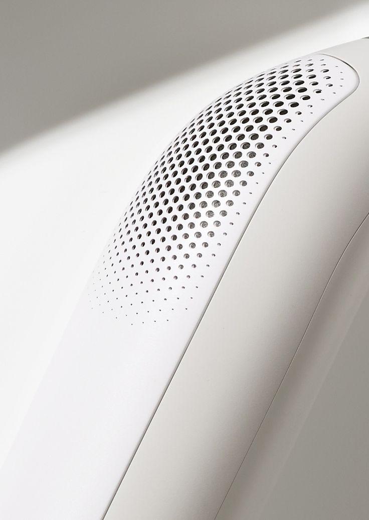 # Electronics Material Break Parametric Pattern Purple Speakers Texture Vent White