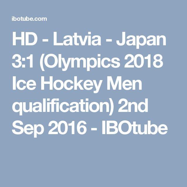 HD - Latvia - Japan 3:1 (Olympics 2018 Ice Hockey Men qualification) 2nd Sep 2016 - IBOtube