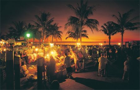 Markets at Mindil Beach Darwin Northern Territory Tourism