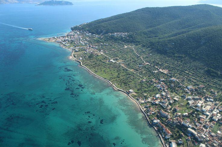 Coast of angistri