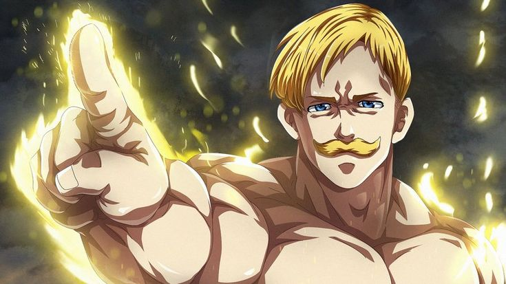 Escanor, Nanatsu no Taizai (The Seven Deadly Sins), Anime