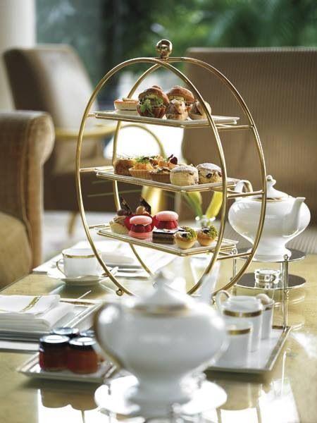 Afternoon tea at The Ritz-Carlton, Toronto