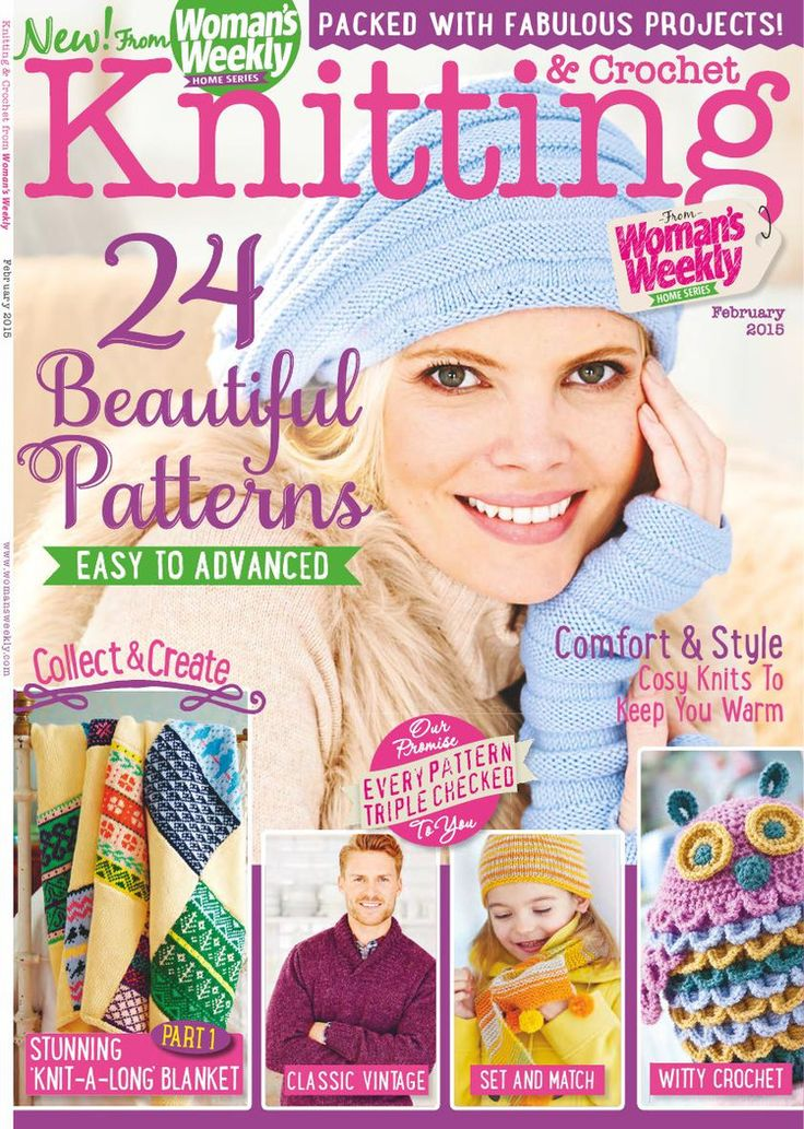 Knitting & Crochet February 2015 - 轻描淡写的日志 - 网易博客