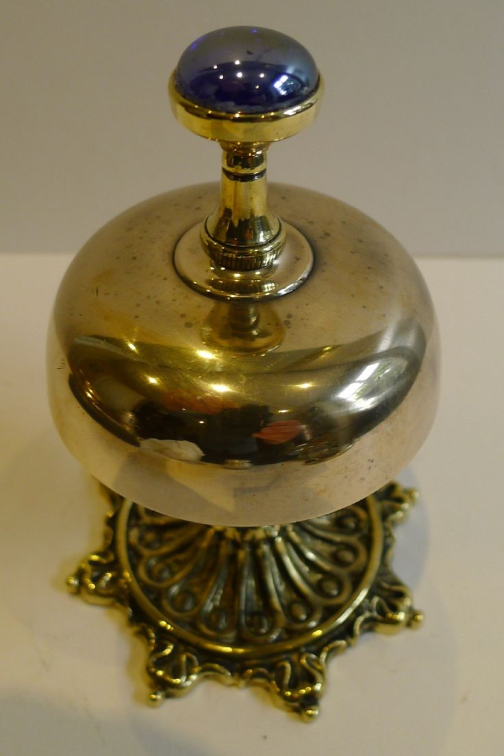 ANTIQUE ENGLISH BRASS DESK BELL C1880 - 128 Best Timbres / Table Bells Images On Pinterest Le'veon Bell