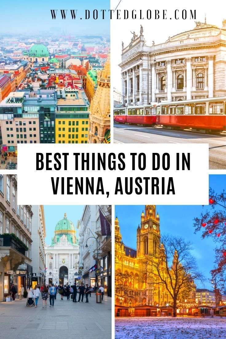 Vienna Itinerary Awesome Ideas To Explore Vienna In 1 Day Vienna Travel Cool Places To Visit Vienna Travel Guide