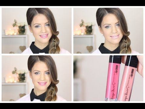 ▶ Review - Tanya Burr Lip Gloss - YouTube #makeup #lipstick #beauty #trends #lips