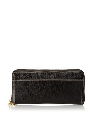 53% OFF Tusk Women's Single Zip Gusseted Clutch Wallet, Black