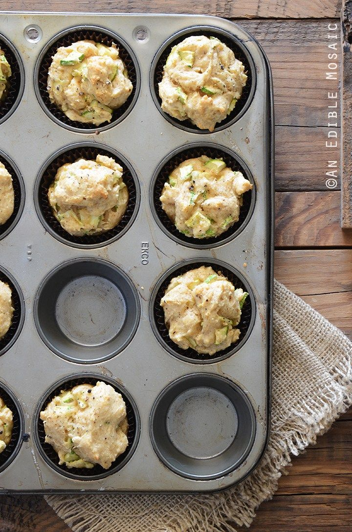 Savory Spiced Sour Cream Zucchini Muffins Recipe Sour Cream Muffins Zucchini Muffins Zucchini