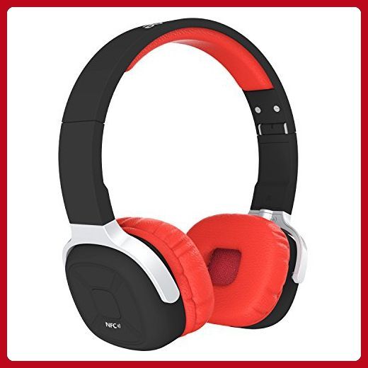 Aonsen Bluetooth Headphones NFC On-Ear Stereo Sports Headset Noise Reduction with Microphone - Audio gadgets (*Amazon Partner-Link)