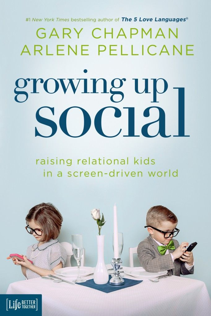 Are you and your children CONNECTING or DISCONNECTING because of TECHNOLOGY? COMMENT for a chance to win GARY CHAPMAN & ARLENE PELLICANE'S new book, GROWING UP SOCIAL!!