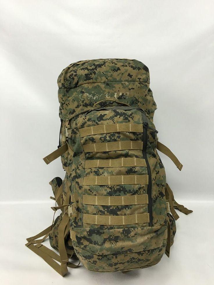 USMC GEN 1 ILBE Rucksack & Assault Pack Shoulder Straps, Hip Belt, Lid