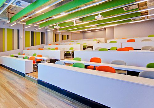 Modern Classroom Certified Trainer ~ School design educational spaces classroom interior
