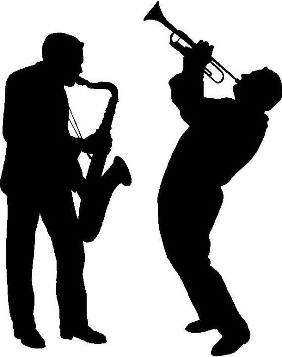 Vinyl Wall Art  Jazz Musicians by VisionsInVinyl on Etsy, $17.00                                                 there