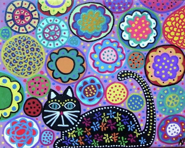 Spring Cat Canvas Print / Canvas Art by Kerri Ambrosino GALLERY