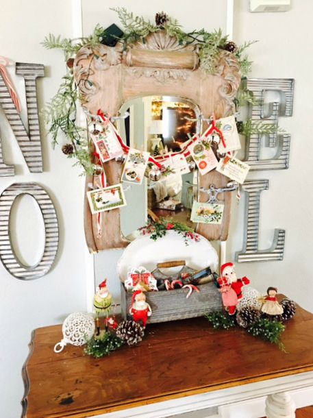 Christmas Decorating Idea With Red And WhiteHoliday All Over The House Filled Festive White Decor Holiday Cheer