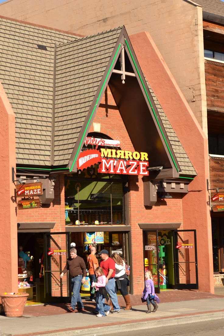 Ripley 39 S Mirror Maze In Gatlinburg Your Whole Family