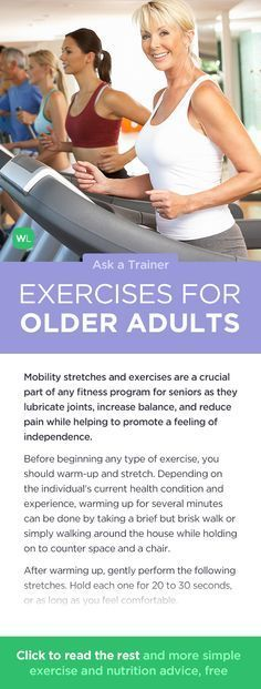 What are some non-strenuous stretches and exercises for retaining mobility for seniors? Visit http://wlabs.me/1v4GGBF to find out!