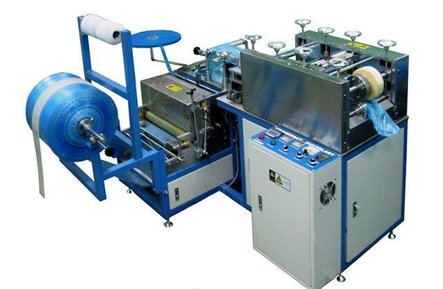 Машина для изготовления бахил - Автоматические устройства - Каталог оборудования - УЗСВ — ультразвуковая сварка полимеров