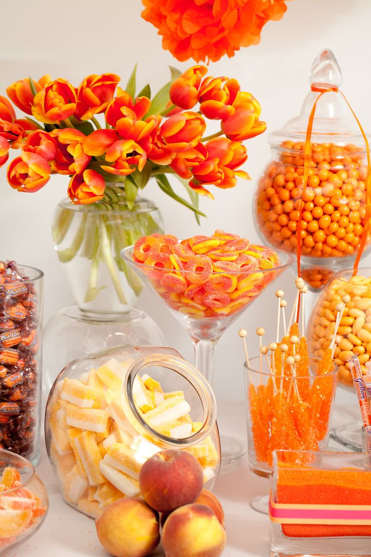 Nuts.com Orange Candy Buffet