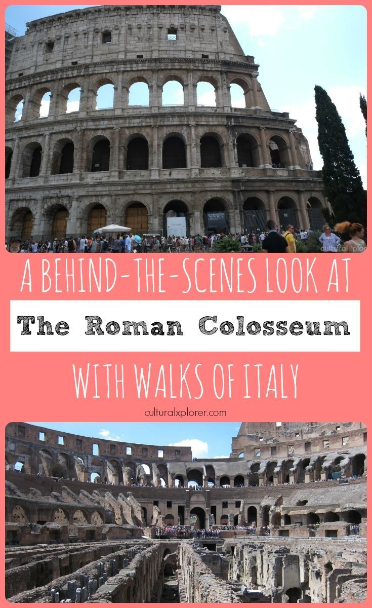 A Behind-The-Scenes Look at the Roman Colosseum with Walks of Italy (+Video)