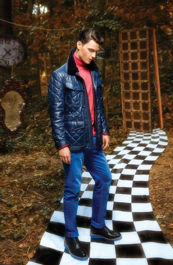 TOSS 2015-16 Autumn-Winter #toss #philosophy #young #man #free #fit #stylish #sport #fresh #style #design #look #basic #jean #jacket #coat