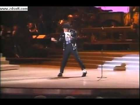 First time Michael Jackson ever moonwalked. HUGE MOMENT and never fails to make my stomach FILL with butterflies. Might sound ridiculous but it almost makes me cry.