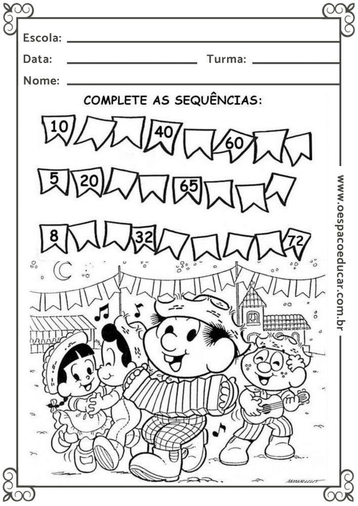 Educacao Infantil Cancoes E Atividades Com O Tema Festa Junina