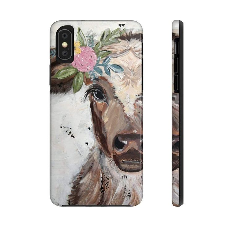 Cow case mate tough phone cases animal phone cases