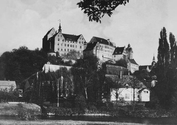 Colditz Castle in April 1945. Douglas Bader was a prisoner here for nearly three years, sent there because he'd managed to escape from captivity so many times that the Germans threatened to take both his prosthetic legs away from him.