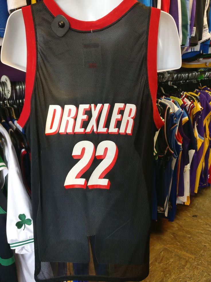 7ae51fc2b Vtg22 CLYDE DREXLER Portland Trailblazers Champion Jersey 48Deadstock ...