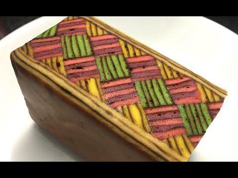 How To Make Kek Lapis Sarawak (Layers Cake) - YouTube