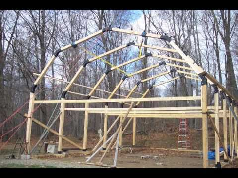 Build a Garage, Workshop, Pole Barn, House - YouTube