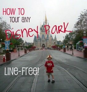 Disney park touring line-free: how to tour Disneyland parks without waiting more than 15 minutes per line, all day long!