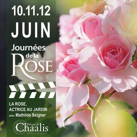 Les journees de la rose 2016 abbaye de chaalis