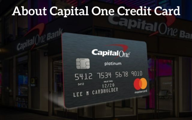Capitalone Com Activate Activate Capital One Credit Card With
