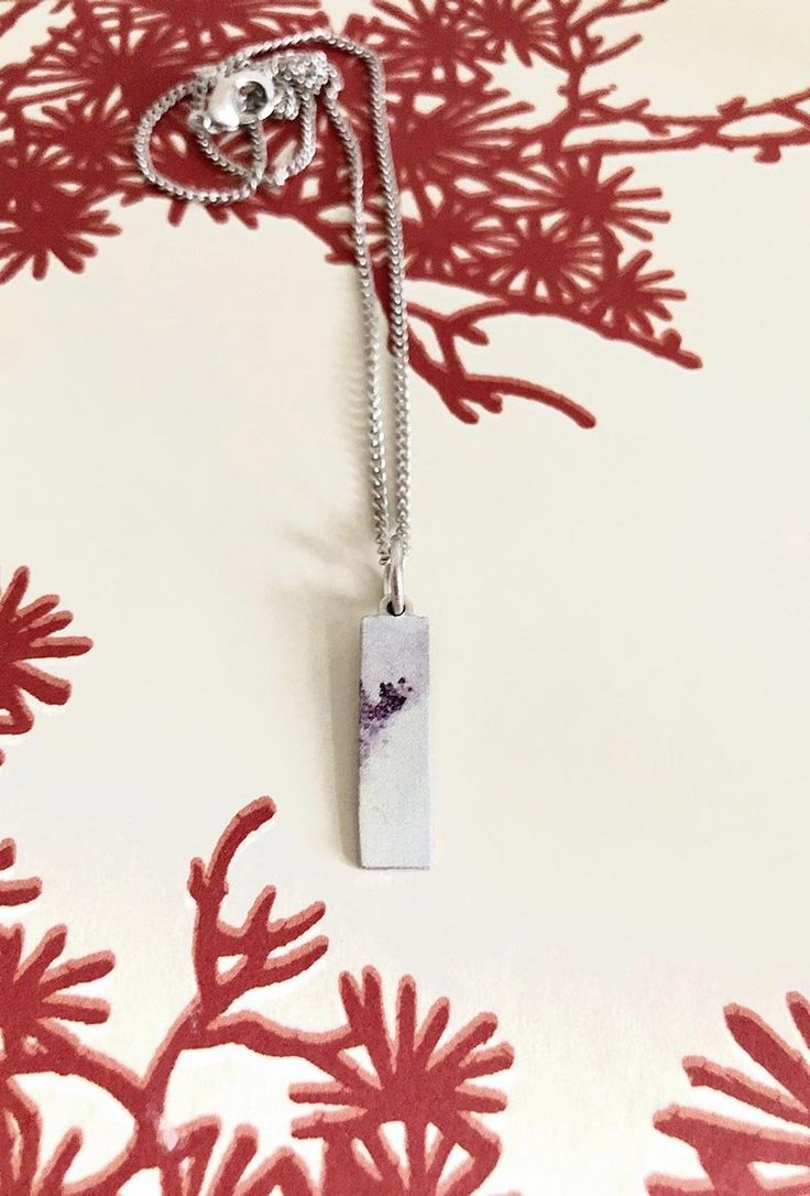 You, Poetic Pendant Necklace with Contemporary Edge
