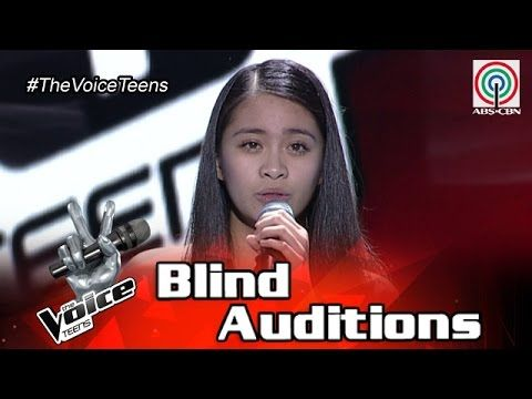 """FULL VIDEO: Sophia Ramos Sings """"Stone Cold"""" on The Voice Teens Philippines Blind Auditions   Pinoy Ambisyoso"""